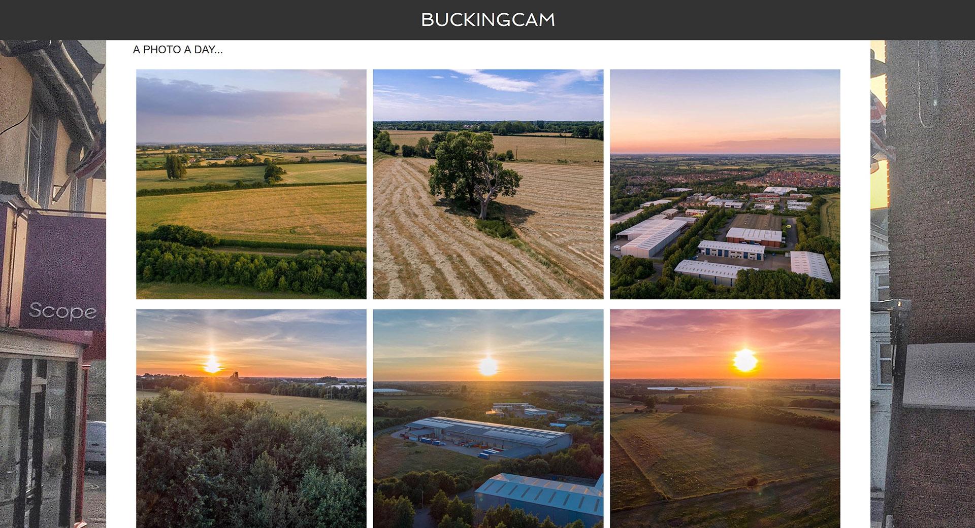 Buckingcam website thumbnail