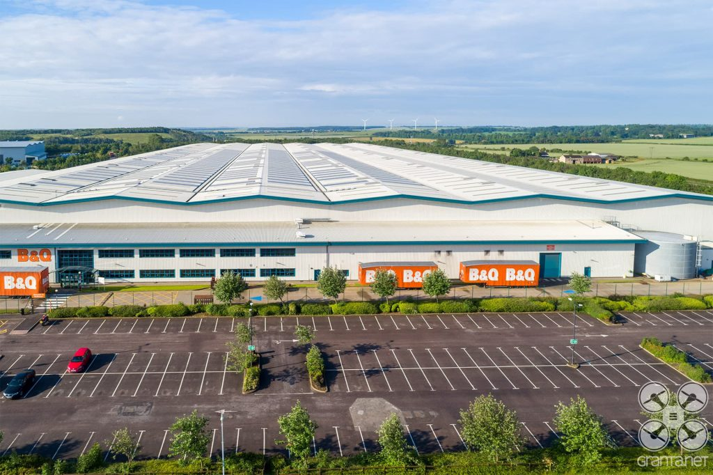 B and Q Red house interchange distribution centre